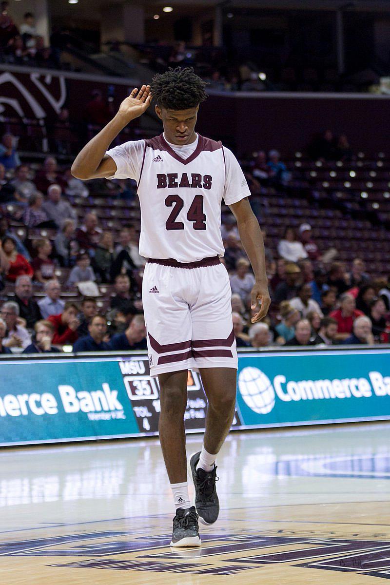 2016-2017 Missouri State Mens Basketball Photos - Missouri State Bears Forward Alize Johnson