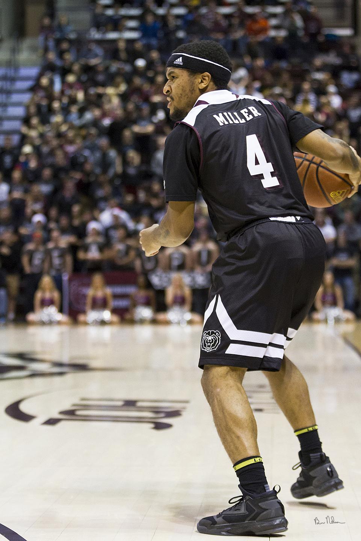 2016-2017 Missouri State Mens Basketball Photos - Dequon-Miller-Point-Guard-Missouri-State-Bears-Basketball 2016-2017