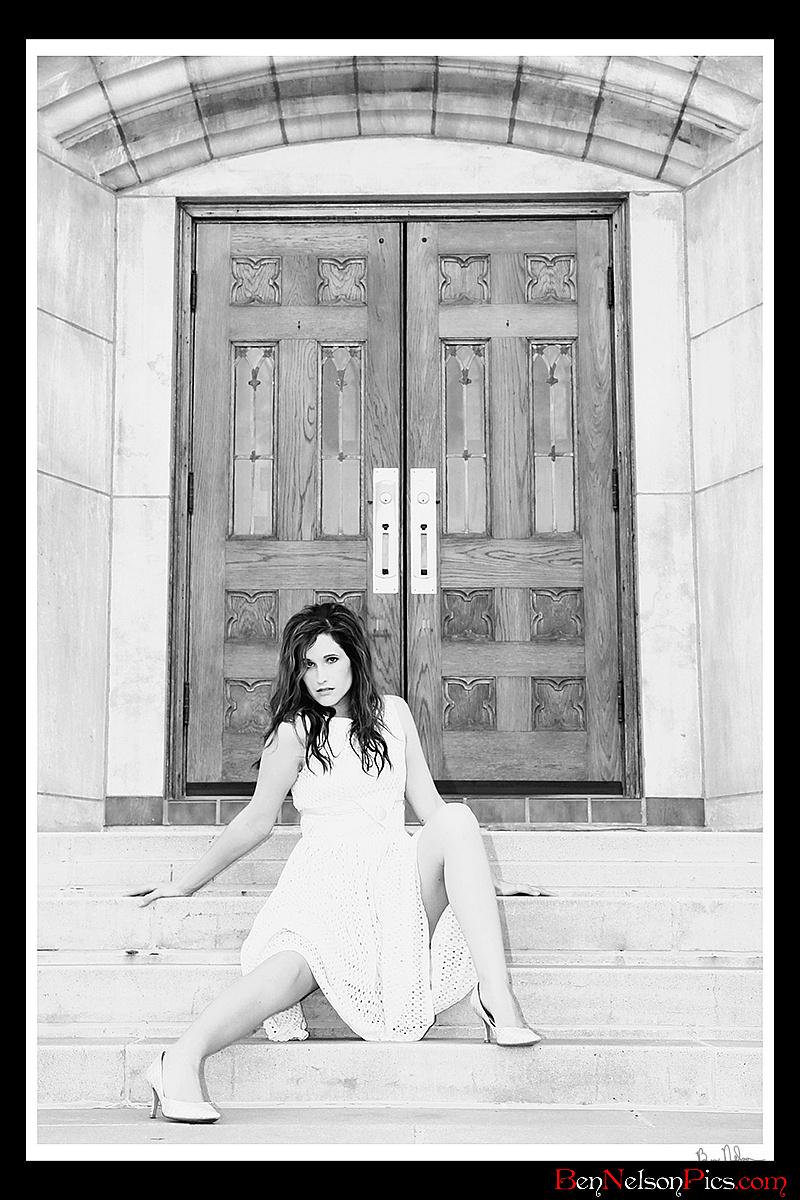 Modeling Fun | Aspiring Models by Ben Nelson - Ashley McClain Modeling Shot Missouri