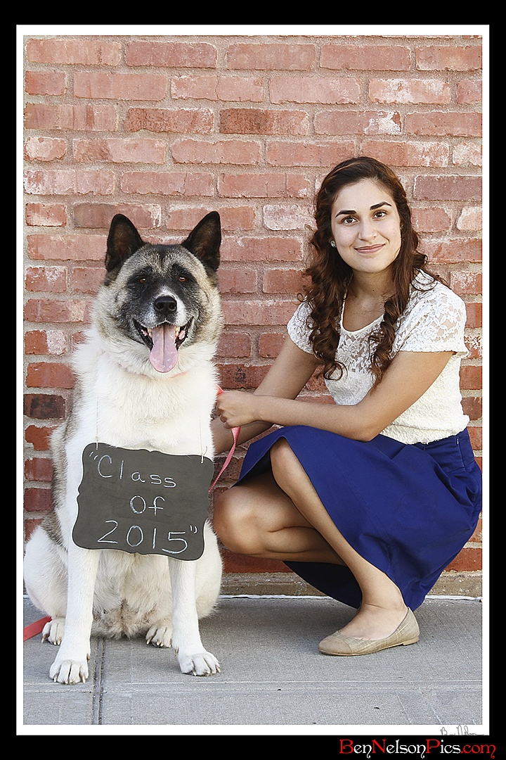 A collection of Senior Pictures and Portraits in the Springfield Missouri area by Ben Nelson - Jullissa Reyes 2015 Senior Portrait with her dog.