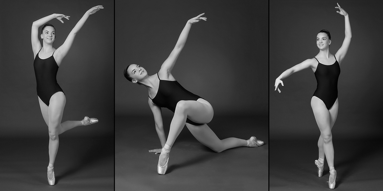 A small sample of some fun ballet poses with Danaysia Schmehl