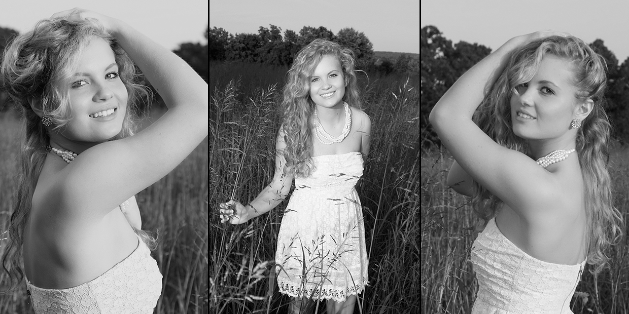 A small sample of senior pictures of Nicki Hodges who graduated high school in 2014