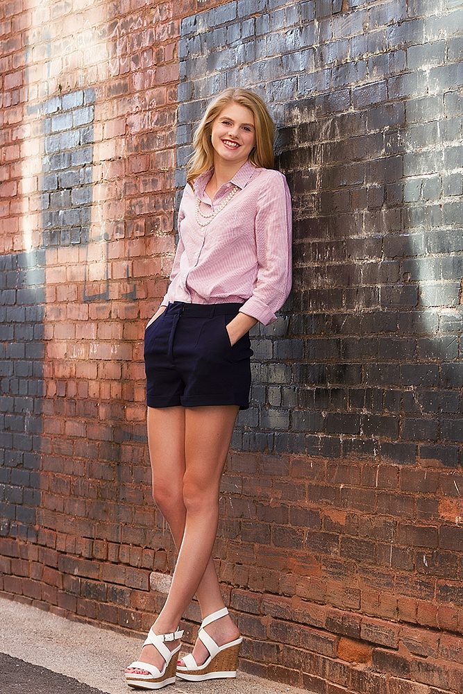 A collection of Senior Pictures and Portraits in the Springfield Missouri area by Ben Nelson - Karla Speights 2016 Senior Photo Downtown