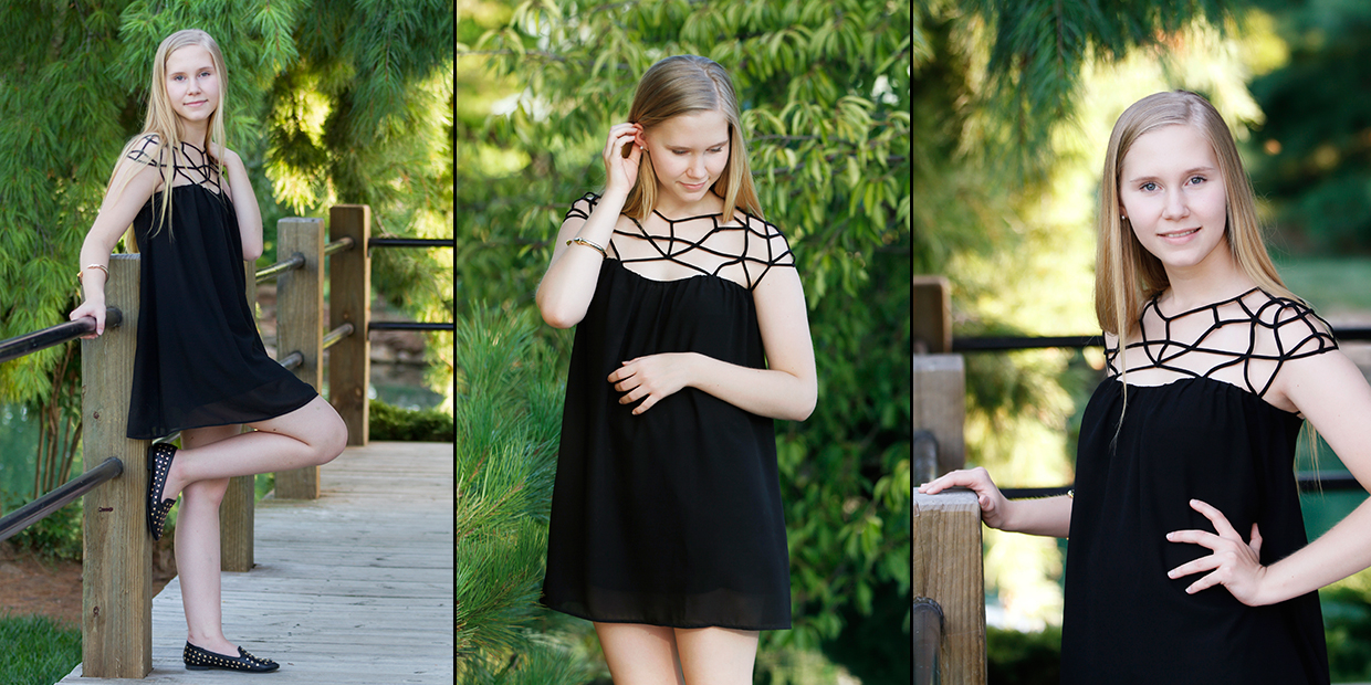 A small sample of senior photos of Amanda Bierman who graduated high school in 2015