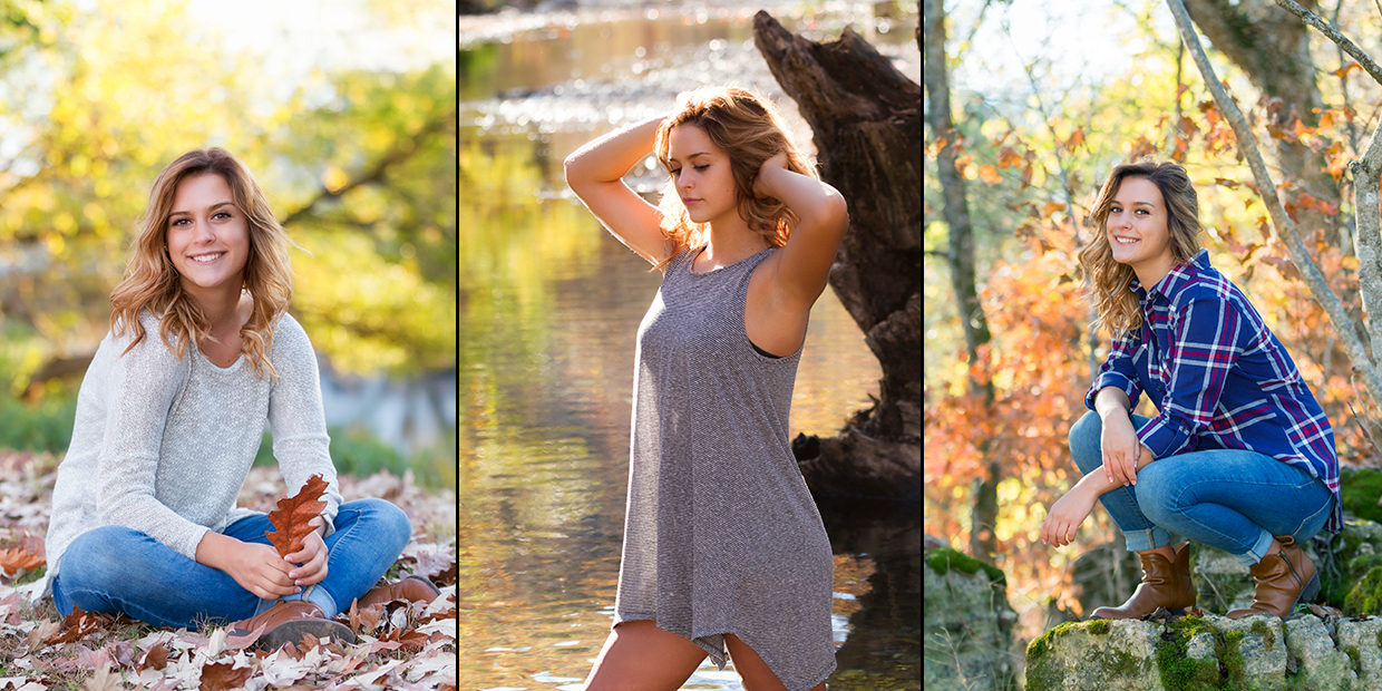 A small sample of senior photos from a senior shoot from 2016 Senior Brianna Logan by BenNelsonPics